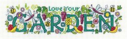 Heritage Love Your Garden Cross Stitch Kit