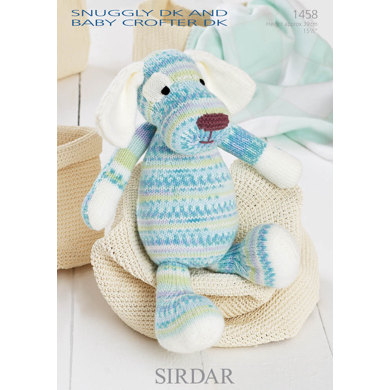 Toy Dog in Sirdar Snuggly Baby Crofter DK and Snuggly DK - 1458