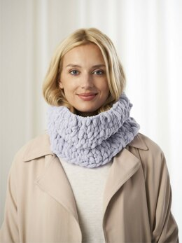 Cambria Cowl in Lion Brand Off The Hook - l80368a - Downloadable PDF