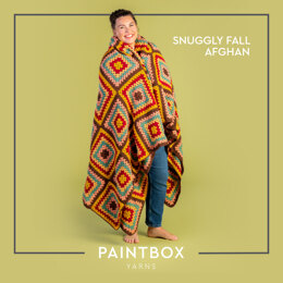 Snuggly Fall Afghan - Free Blanket Crochet Pattern For Home in Paintbox Yarns Simply DK by Paintbox Yarn