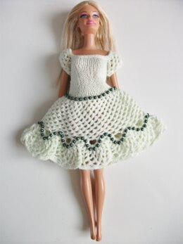 Candace Lacy Dress for Barbie