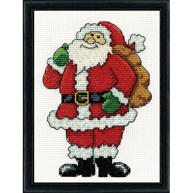 Design Works Santa Counted Cross Stitch Kit