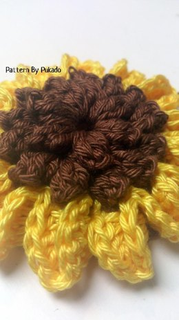Sun Flower and Sun Flower Granny Square
