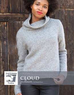 Cloud Pullover in Juniper Moon Farm Stratus - J43-04 - Downloadable PDF
