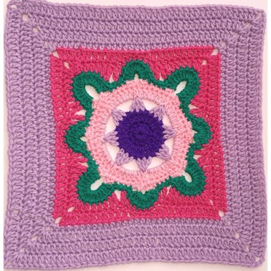 Mary Lincoln Afghan Square