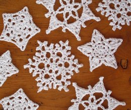 Quick and simple snowflakes and stars