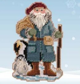 Mill Hill Penguin Santa Cross Stitch Kit