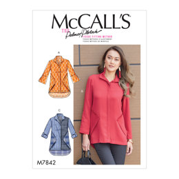 McCall's Misses' Shirts M7842 - Sewing Pattern