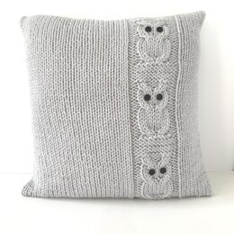 Family of Owls Cushion Cover