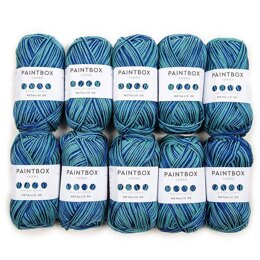 Paintbox Yarns Metallic DK 10er Sparset