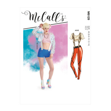 McCall's Misses' Costumes M8129 - Sewing Pattern