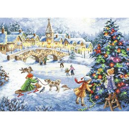 Dimensions Winter Celebration Cross Stitch Kit