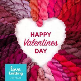 LoveKnitting eGift Card - Valentine's Day 4