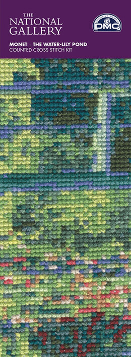 DMC The National Gallery - Monet - The Water-Lily Pond Bookmark
