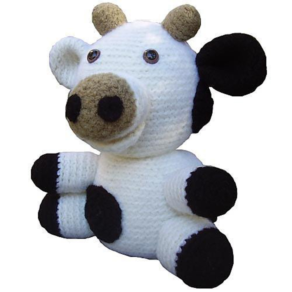 Amigurumi Travis The Felted Cow Crochet Pattern By Stacey