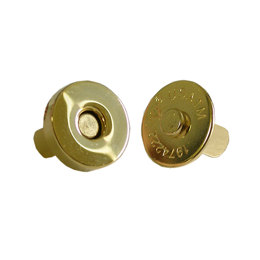 Gold Magnetic 18mm Snaps