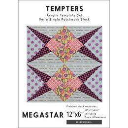 Jen Kingwell Designs Megastar Tempter Templates