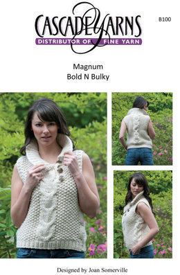 Bold and Bulky in Cascade Magnum - B100