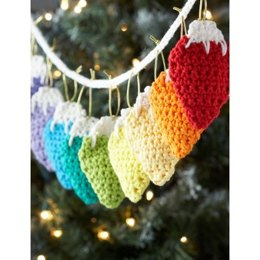 Holiday Lights Garland in Lily Sugar 'n Cream Solids