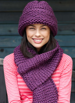 Beginner Scarf in Lion Brand Hometown USA - L0084D
