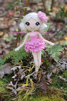 Chrysanna the Albino Fairy Crochet Amigurumi Doll