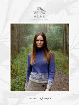 Samantha Jumper in Willow & Lark Woodland - Downloadable PDF