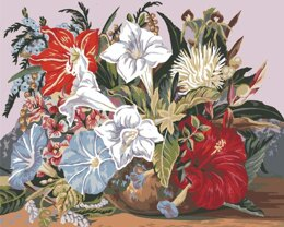 Grafitec Tropical Posy Tapestry Canvas