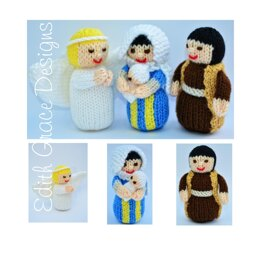 Nativity Dolls Knitting Pattern