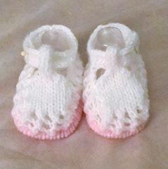 Baby 'Lucy' Shoes, Newborn, 0-3mths and 3-6mths
