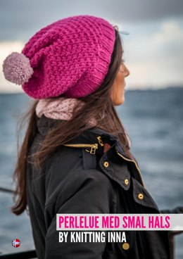 The Pearl Hat & Neck by Knitting Inna