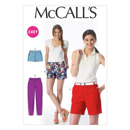 McCall's Misses' Shorts and Pants M6930 - Sewing Pattern