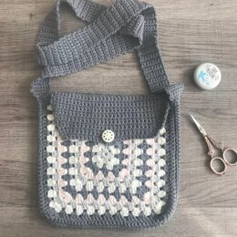 Granny Square Shoulder Bag