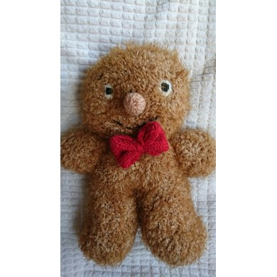 George The Gingerbread Man Knitting Pattern By Cilla Webb