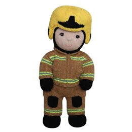 Firefighter (Knit a Teddy)