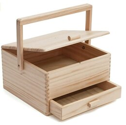 Milward Sewing Craft Box: with Drawer