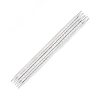 Pony Aluminium Double Point Needles 20cm (Set of 5)