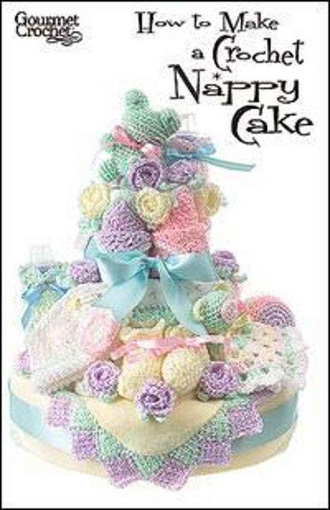 How to Make a Crochet Nappy Cake Crochet pattern by Carolyn Christmas