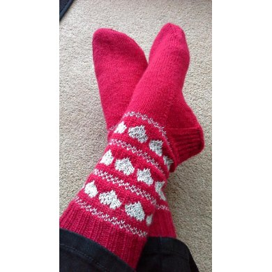 Love is all around Sock