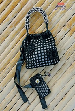 Handbag/Mobile Bag Celine in Adriafil Doppio Ritorto 12/3=8 - Downloadable PDF