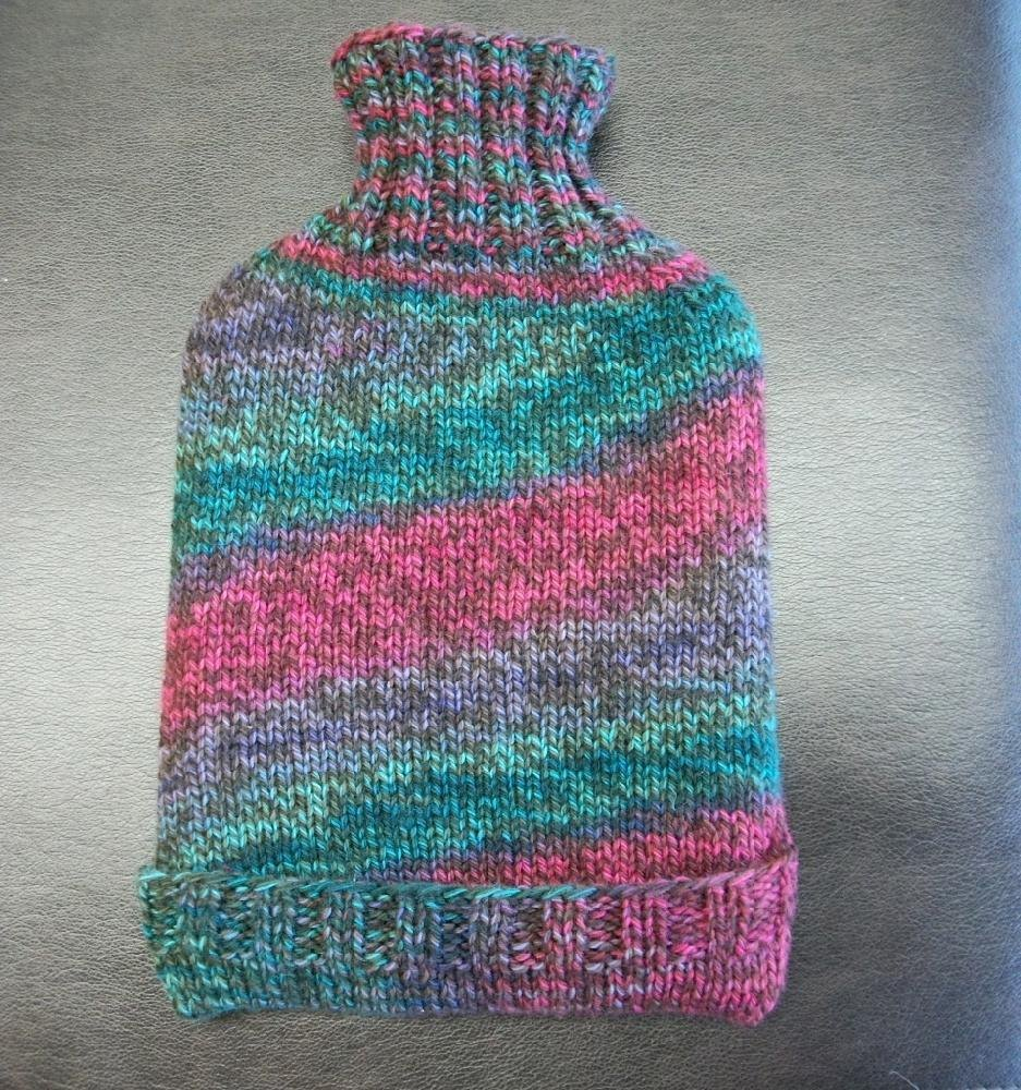 No One Can Love You Like I Can Hot Water Bottle Cozy Knitting pattern by Over...
