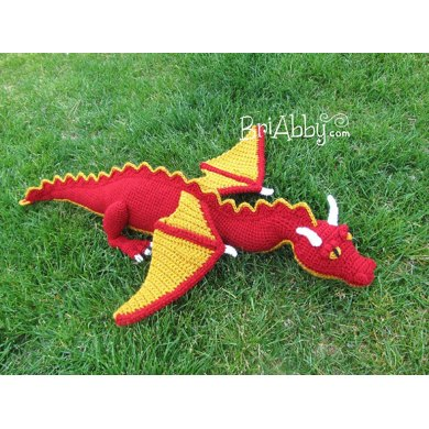 Stuffed Dragon Toy / Stuffie