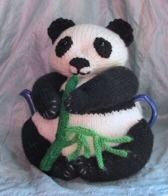 Panda Tea Cosy and Toy