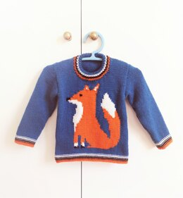 Mr Fox Sweater