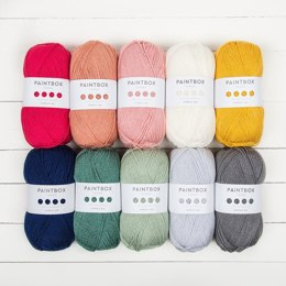 Paintbox Yarns Simply DK 10er Farbset Designer Kollektion