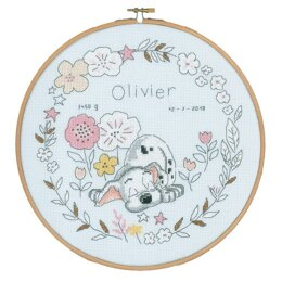Vervaco Disney - Little Dalmatian Cross Stitch Kit - 24cm x 24cm