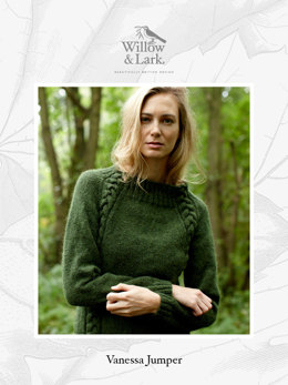 Vanessa Jumper in Willow & Lark Woodland