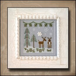 Country Cottage Snowy Reindeer - CCNFF8 -  Leaflet