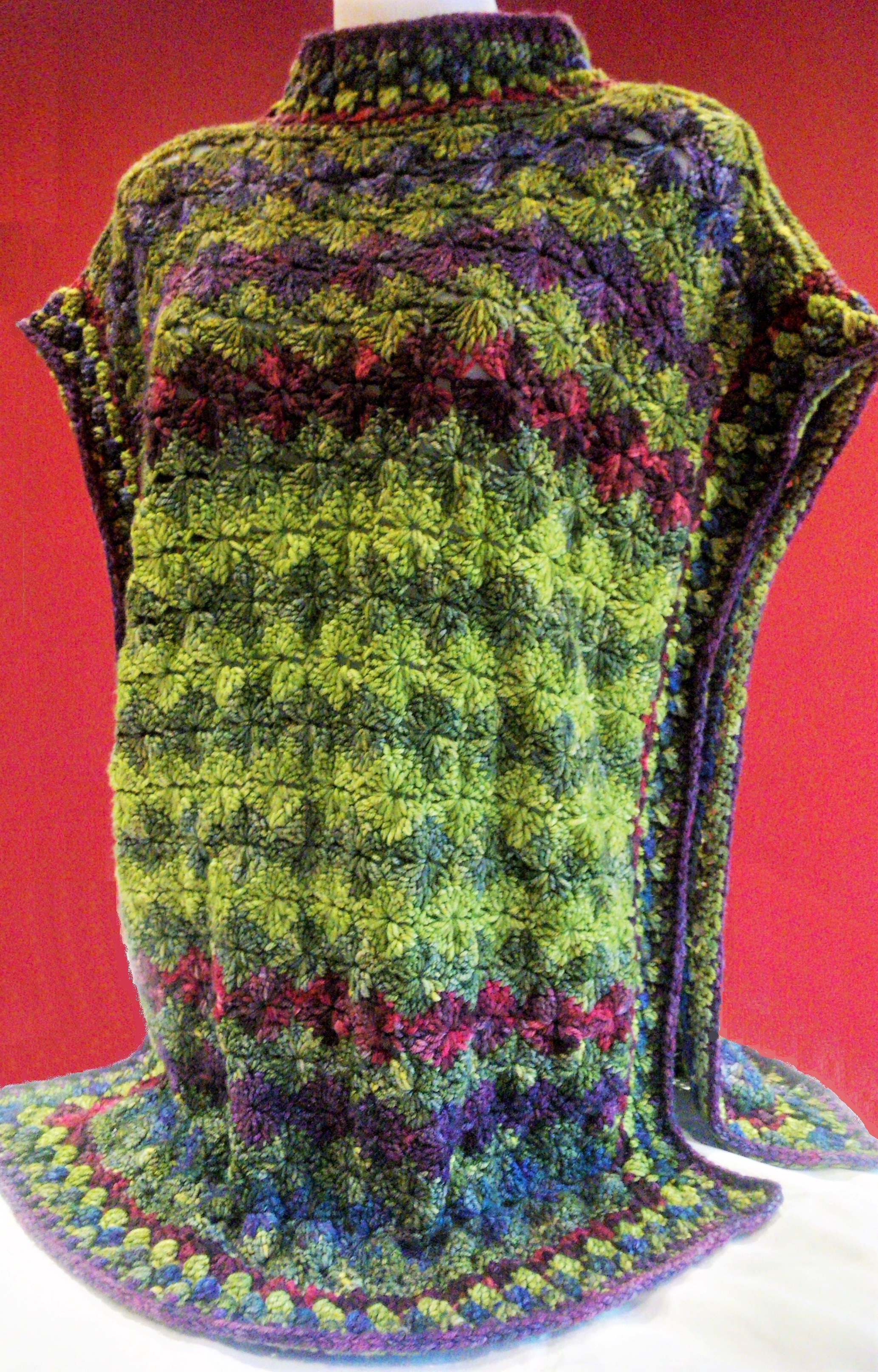 Crocheted Dragon Scale Tabard Crochet Project By Desiree