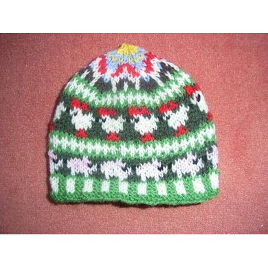 Little farm kids beanie