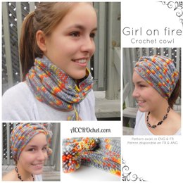 Girl on fire 2-in-1 cowl